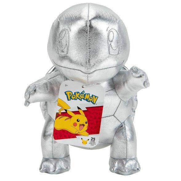 25th Celebrations Knuffel Zilver Squirtle