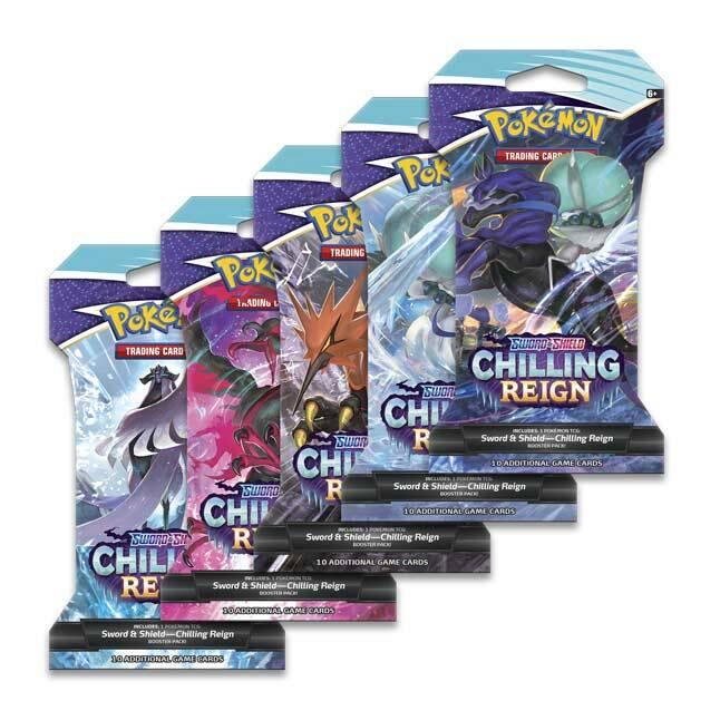 Sword & Shield Chilling Reign Sleeved Booster Pack