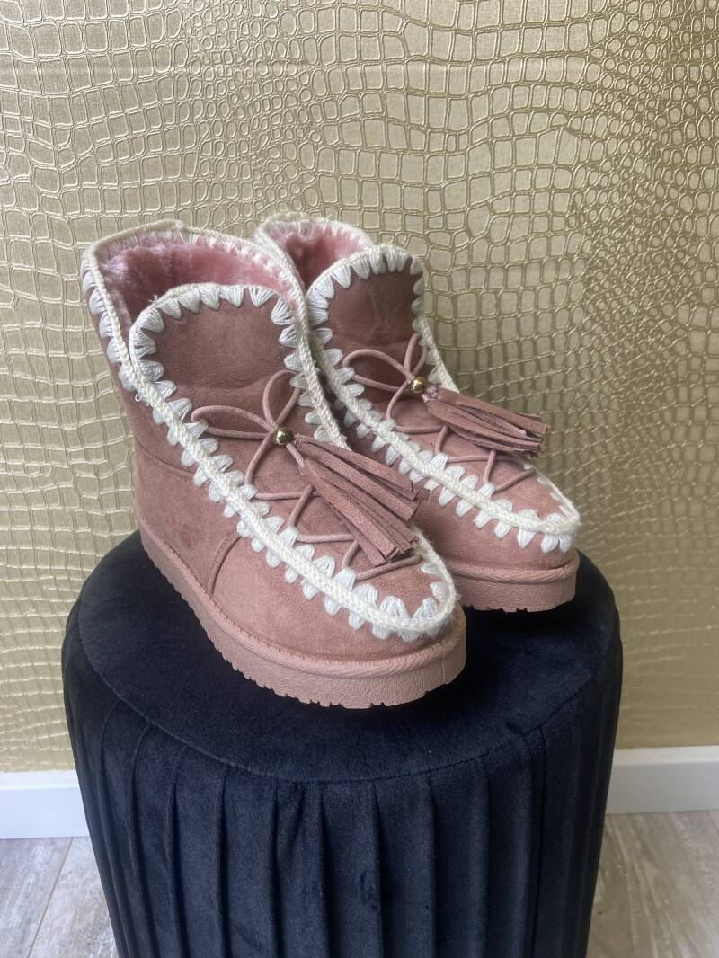 Boots dolci pink