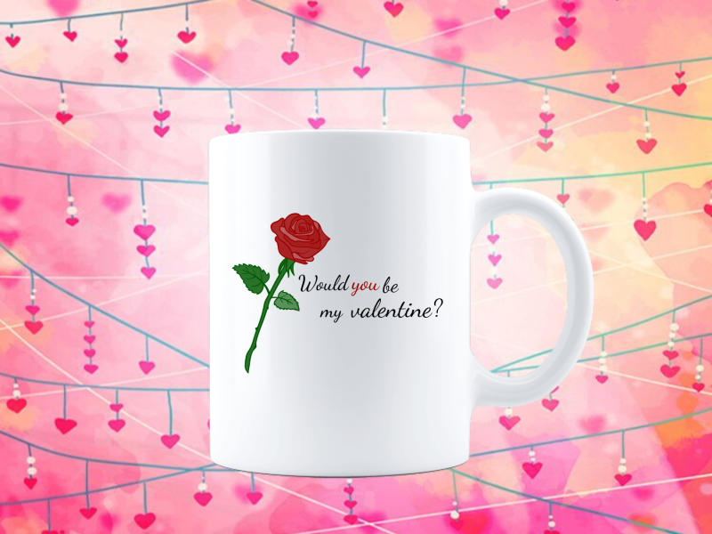 Would you be my Valentine? (Love Tasse 4299.0)