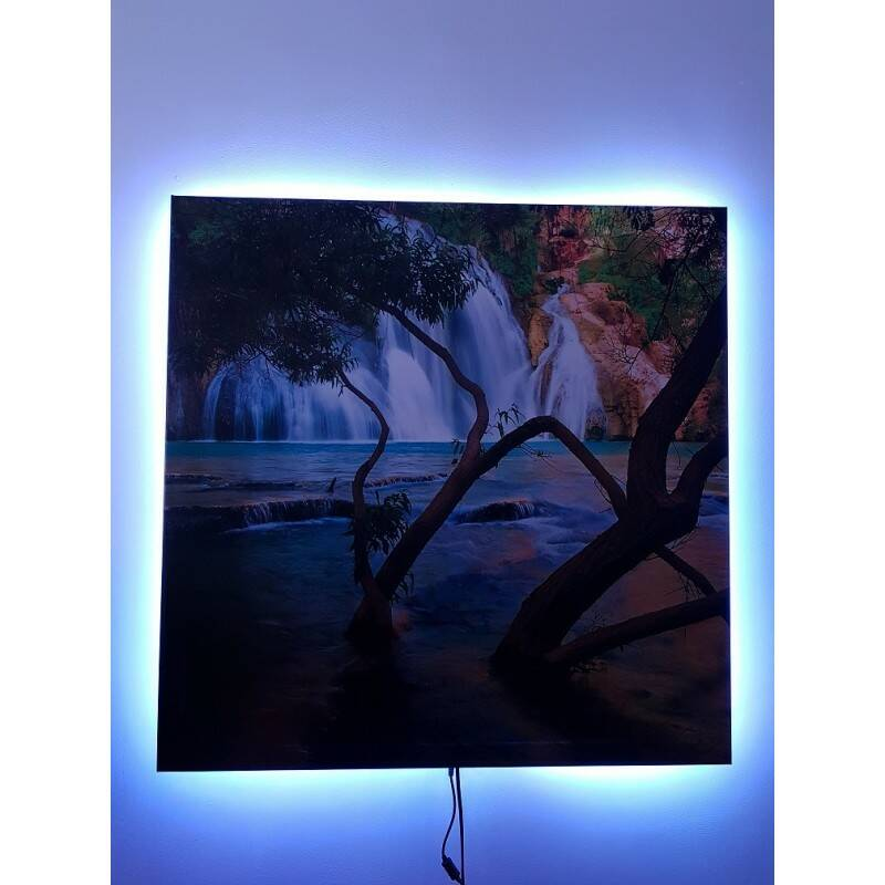 Infrarood canvasdoek 40 x 120cm optioneel LED | 51292