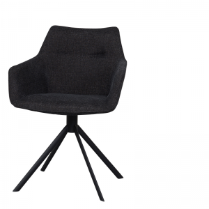 JOHNSON ROTATING CHAIR ANTHRACITE