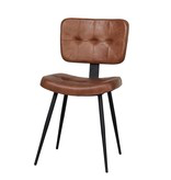 Lifestyle Chester Dining chair Camel - Green - Cognac