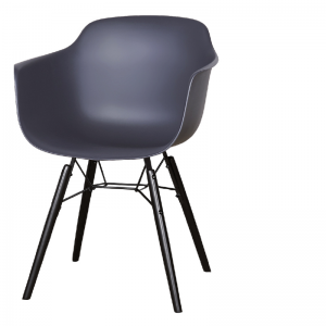 LIFESTYLE. ROOSEVELT DINING CHAIR ANTHRACITE