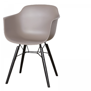 LIFESTYLE ROOSEVELT DINING CHAIR GREY