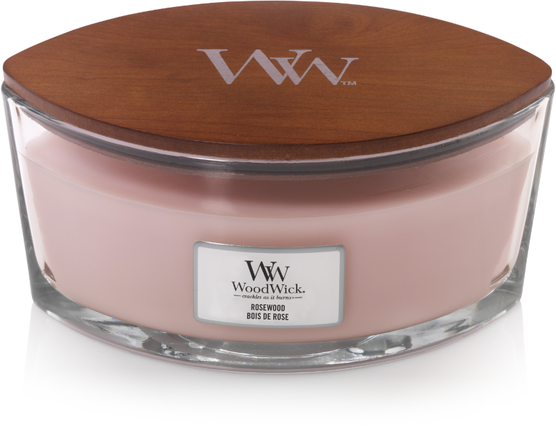 Woodwick Rosewood Ellipse Candle