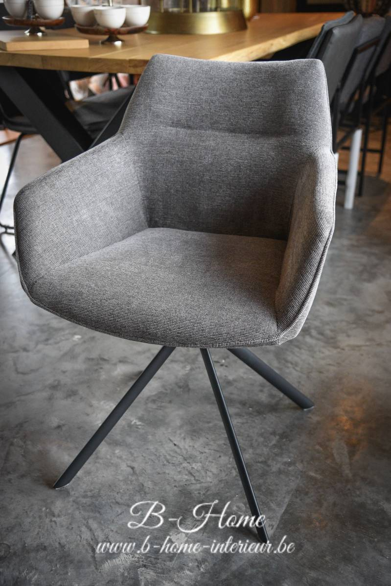 LIFESTYLE JOHNSON ROTATING CHAIR GREY195