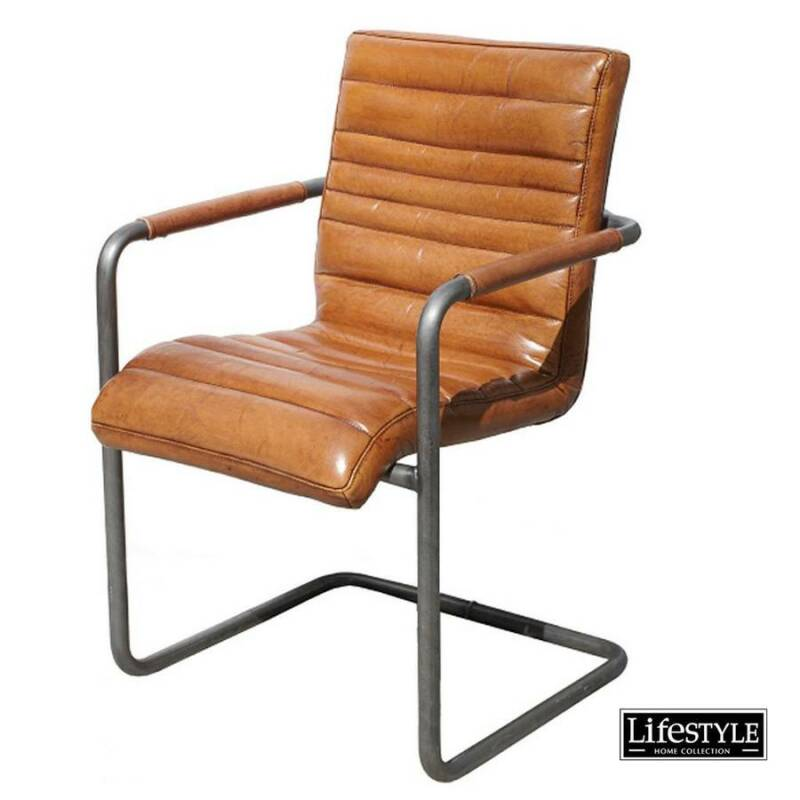 Lifestyle - CHICAGO SWING ARMCHAIR BROWN