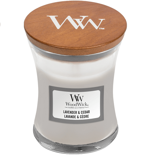 WoodWick Lavender & Cedar Mini Jar Candle