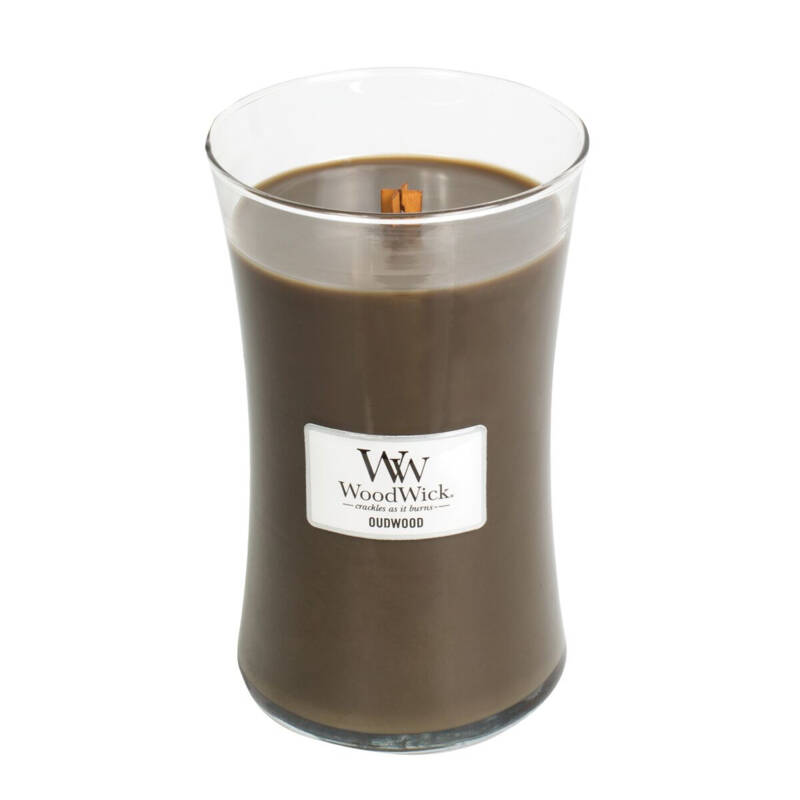 WoodWick Large candle Oudwood