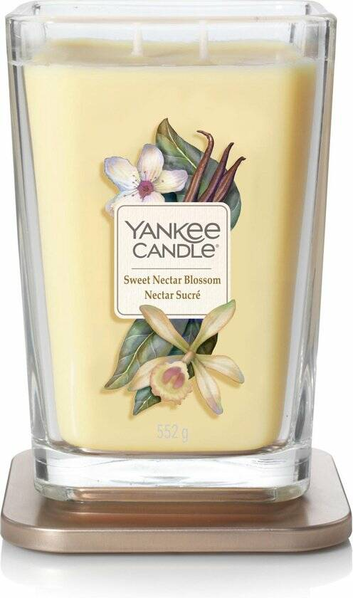 Yankee Candle Elevation Large Geurkaars - Sweet Nectar Blossom