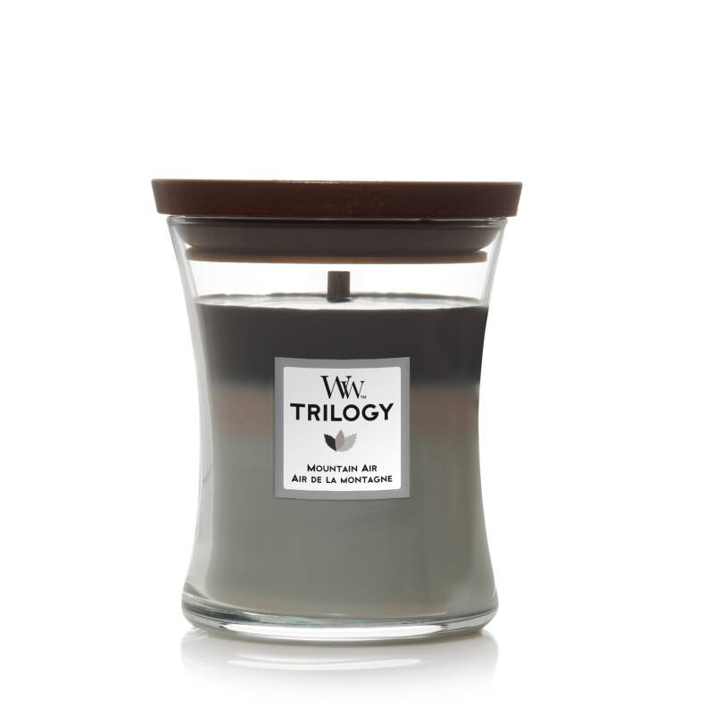 WoodWick Trilogy Medium Candle Mountain Air