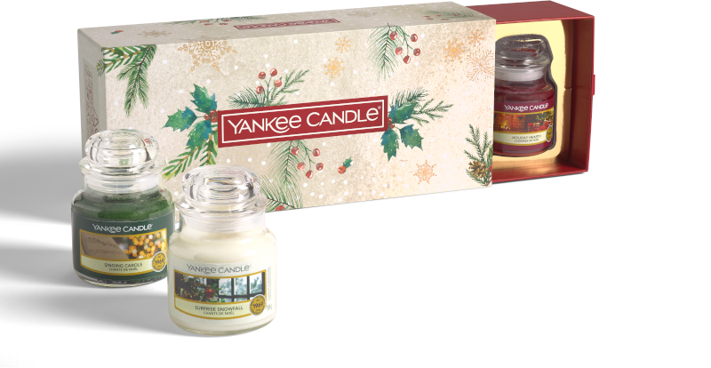Yankee Candle Magical Christmas Morning 3 Small Jars