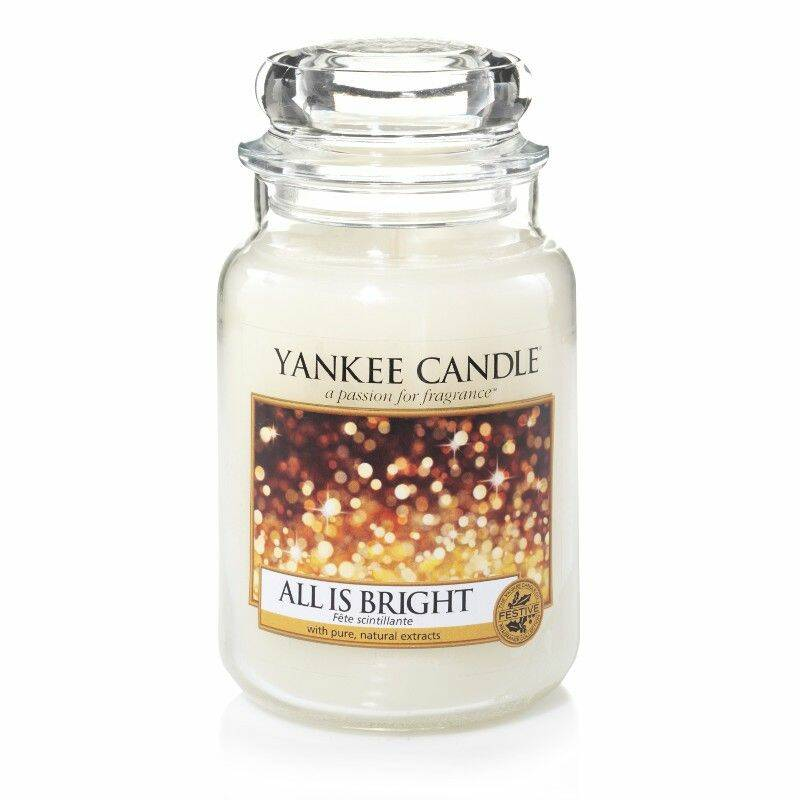 Yankee Candle All is Bright Large Jar