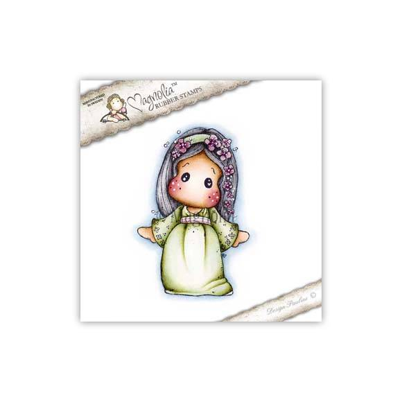 Magnolia Stamp -2015- SA 18 Tilda with Flower Tiara