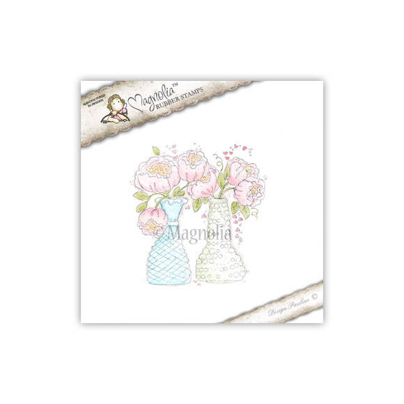 Magnolia Stamp -2013- WL 30 Bouquets With Love