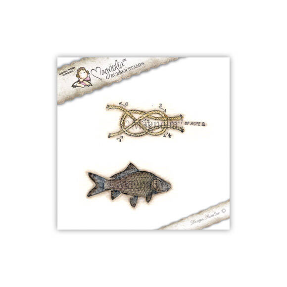 Magnolia Stamp -2013-SB 03 Fish kit