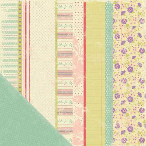 Making Memories Scrappapier Worthy Stripe 30303