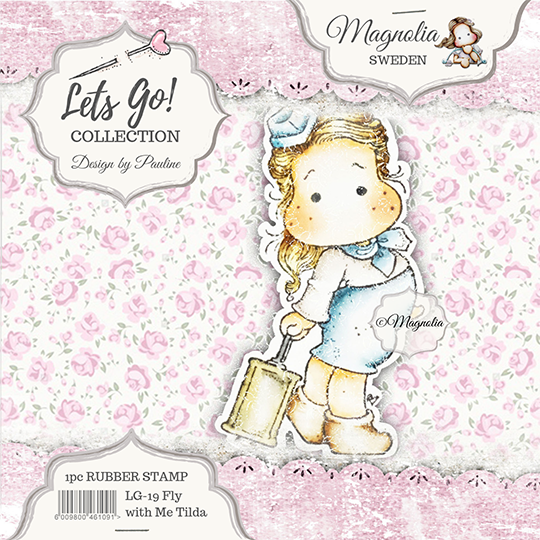 Magnolia Stamp -2019-LG 08 Fly with me Tilda