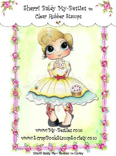 MB 02 Clear Rubber Stamps Carley My-Besties