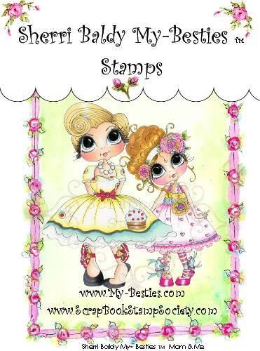 MB 05 Clear Rubber Stamps Carley Mom My-Besties