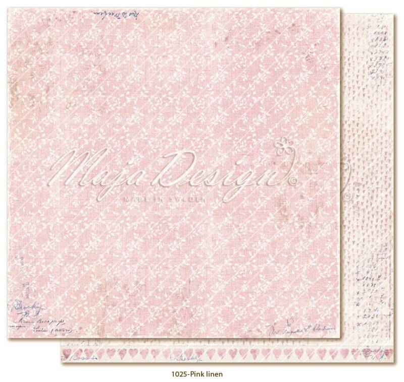 Maja Design - 1025 - Denim & Girls - Pink linen