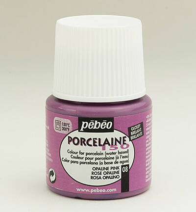 Porcelaine 150 Glossy Opaline Pink 08
