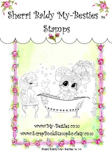 MB 42 Clear Rubber Stamps Fifi My-Besties