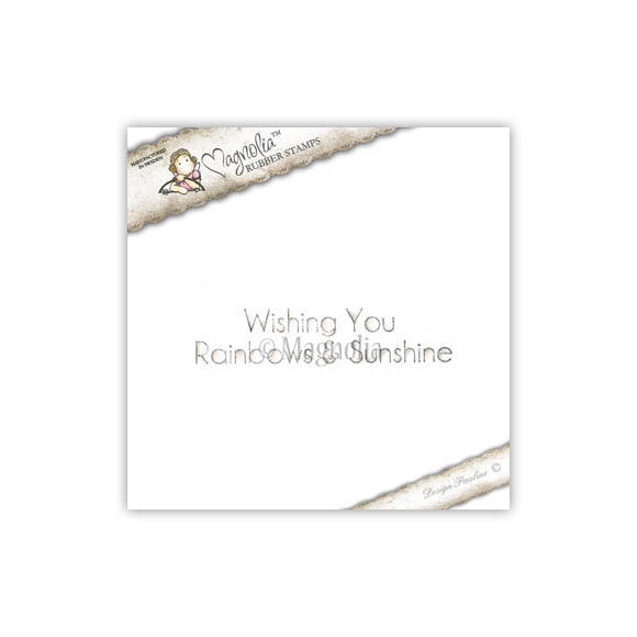Magnolia Stamp - 2011 - SR 33 Wishing You (text)