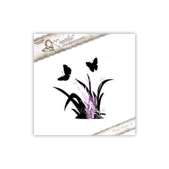Magnolia Stamp - 2009 - PC 21 Grass and Butterfly