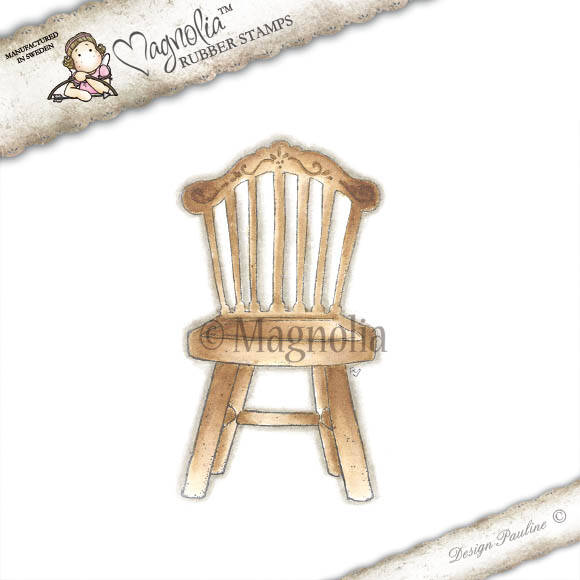 Magnolia Stamp - 2012 - TL 11 Old Swedish Chair