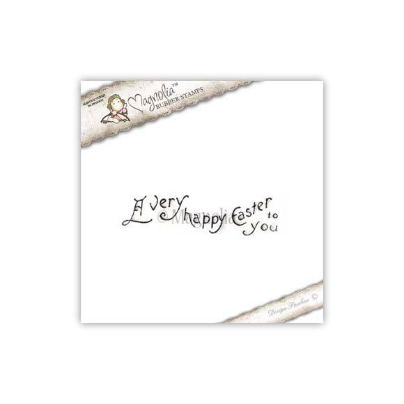 Magnolia Stamp - 2010 - HE 02 A very Happy Easter (text)