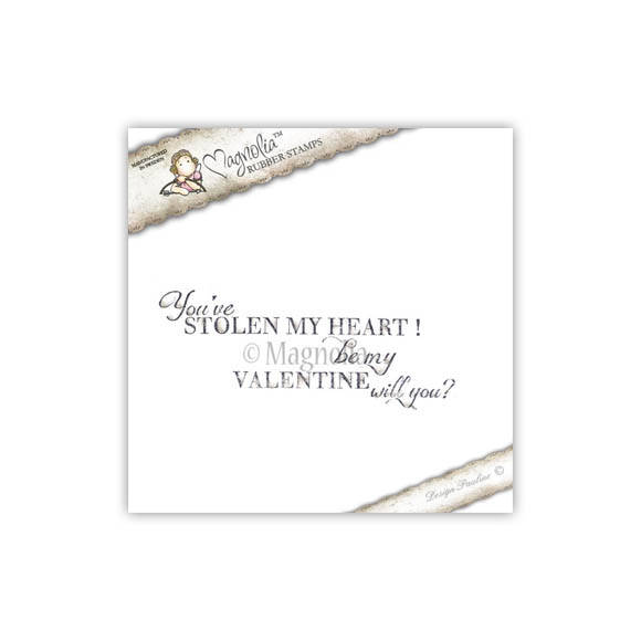 Magnolia Stamp - 2012 - SCL 37 You`ve Stolen my heart (text)