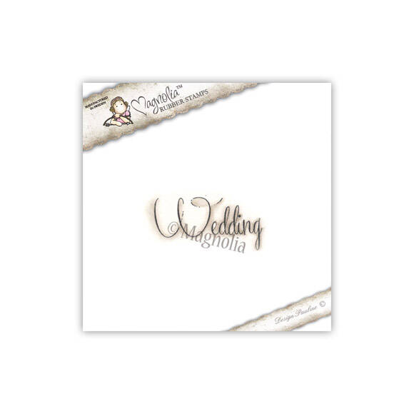 Magnolia Stamp - 2013 - SMC 21 Wedding Text