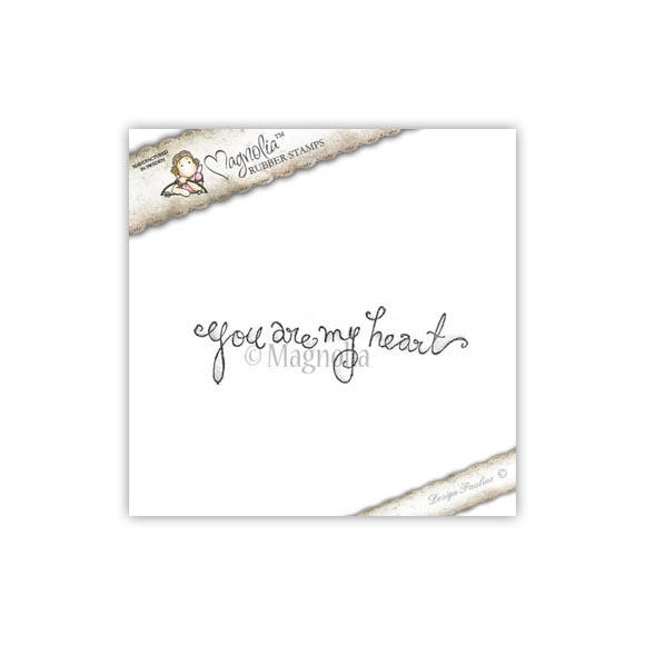 Magnolia Stamp - 2012 - SCL 36 You are my Heart