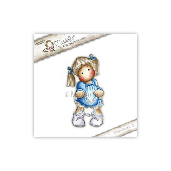 Magnolia Stamp - 2012 - SCL 17 Tilda with Heartchain