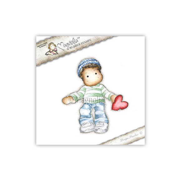 Magnolia Stamp - 2012 - SCL 38 Edwin with Stolen Heart