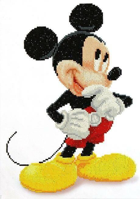 CD852700105 Camelot Dotz - 31cmx43cm Mickey Wonders Diamond Painting Kit