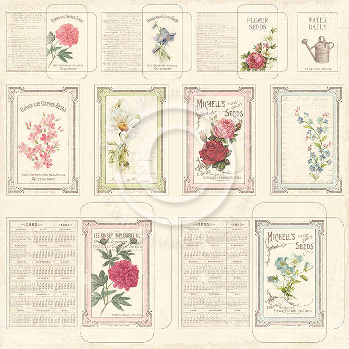 Pion Design 3608 Seed Packets