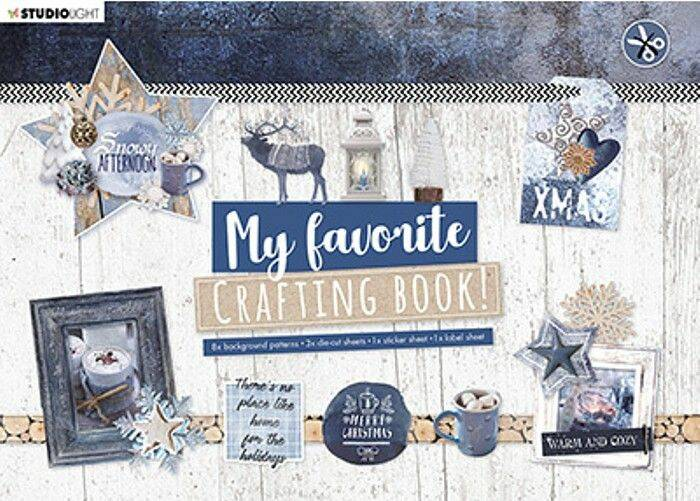 Crafting Book  Studio Light Snowy Afternoon Elements StansblokSL95