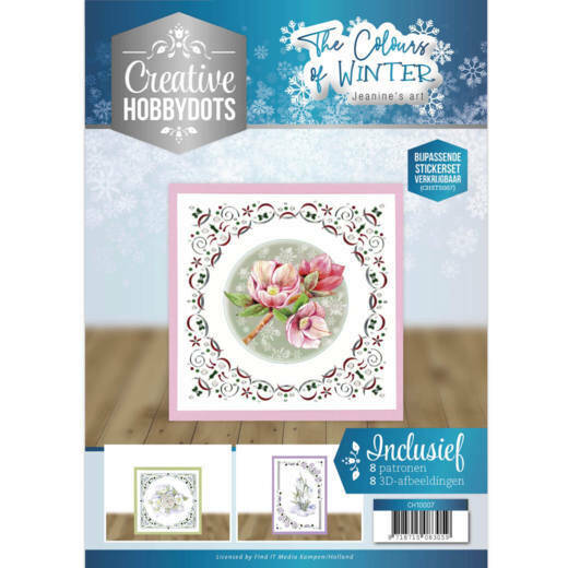 Creative Hobbydots 7 - Jeanine's Art - The colours of winter CH10007