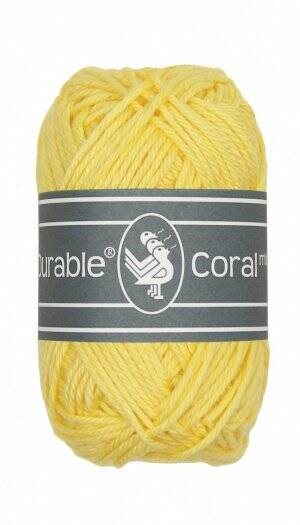 Durable Coral Mini 309 Light Yellow