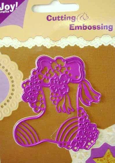 Joy Craft Cutting & Embossingstencil 6002/0046 Kerstsok