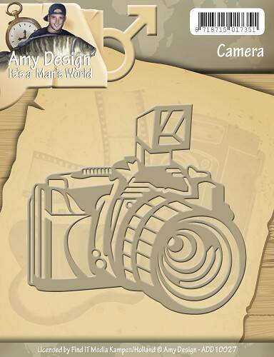 Find it - ADD 10027 Die - Amy Design - Its a Mans World - Camera