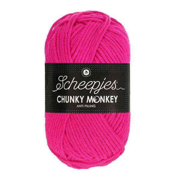 Scheepjes Chunky Monkey 1257 Hot Pink