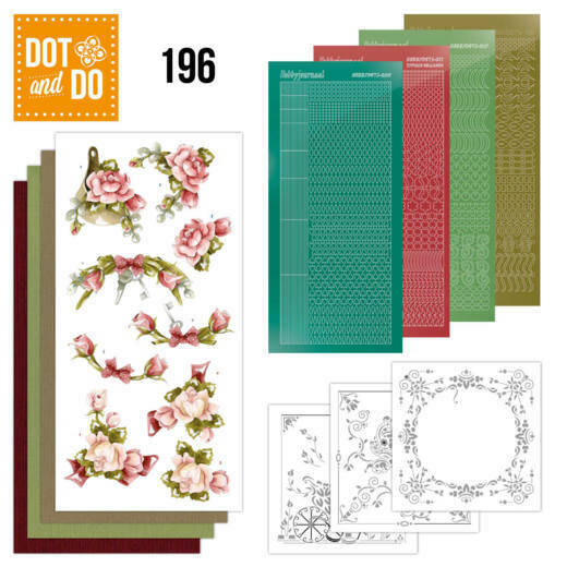 Dot and Do 196 -P Marieke - Romantic Roses