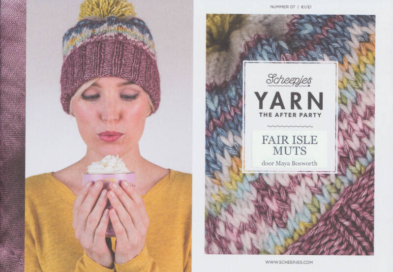 Scheepjes Yarn The After Party no. 07 Fair Isle Hoed