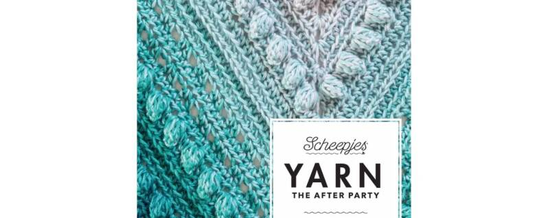 Scheepjes Yarn The After Party no. 09 Stormy Day Omslagdoek