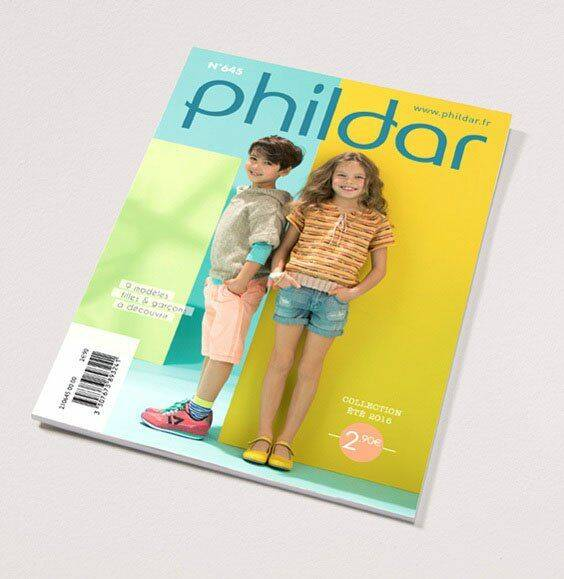 Phildar Mini-catalogus nr.645 Kinderen