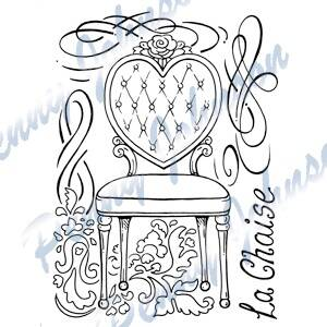 Penny Johnson Clear Stamp Pen044